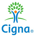 Logo Recognizing Haro Podiatry & Laser Center's affiliation with Cigna